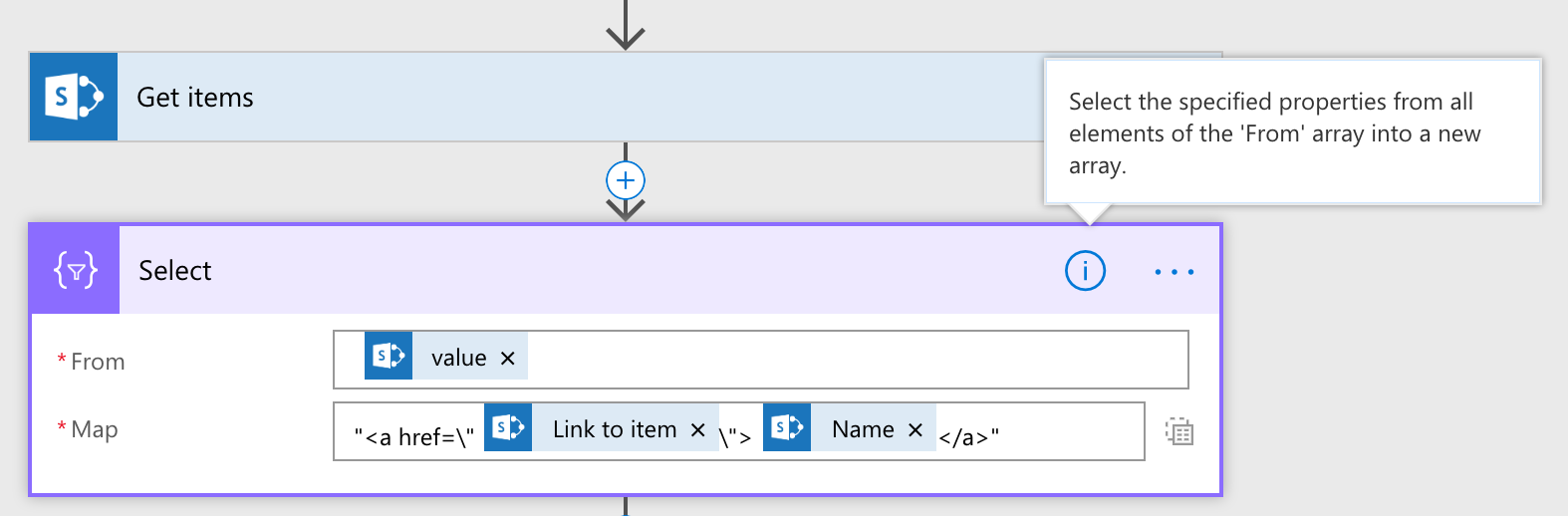 Building HTML tables in your flows for sending digest emails