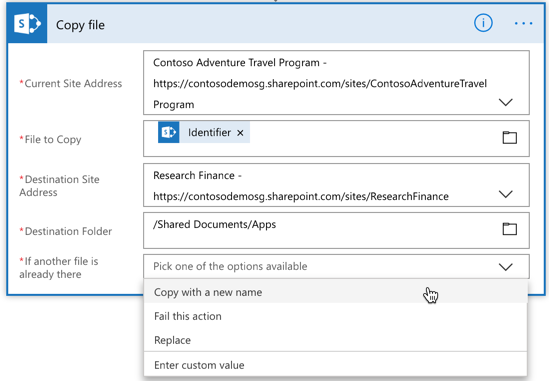 New and improved SharePoint copy & move actions for